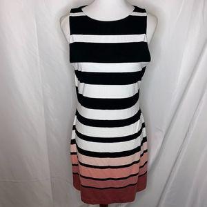 White House Black Market Sleeveless Sheath Dress